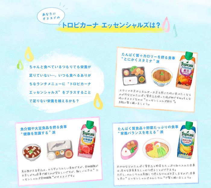 トロピカーナのかくれ栄養不足サイト2