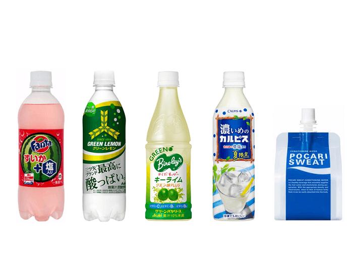 塩分補給商品が続々登場!「熱中症対策飲料市場」順調に推移