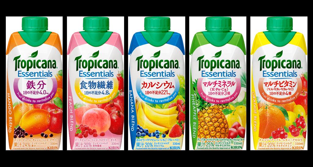 販売数量、目標の300%超えのトロピカーナはボトルもHPもカワイイ