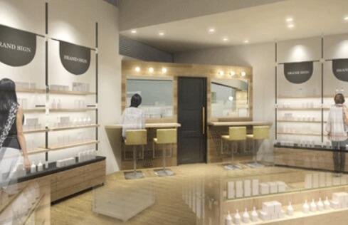 @cosme store海外1号店は美容市場規模高水準の立地