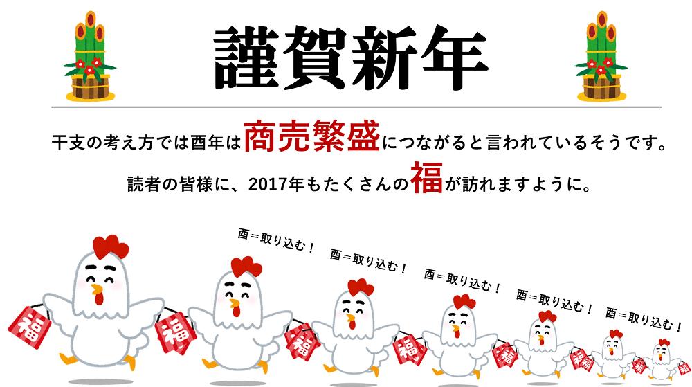 【謹賀新年】2017年のヘルスケア関連トレンド予測まとめ!冬休み中にチェック!