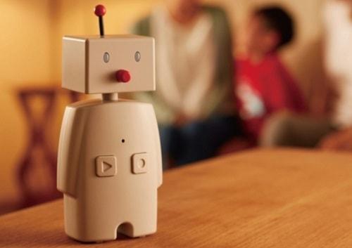 ロボットでインフルエンザ予防  部屋の乾燥をしゃべってお知らせ