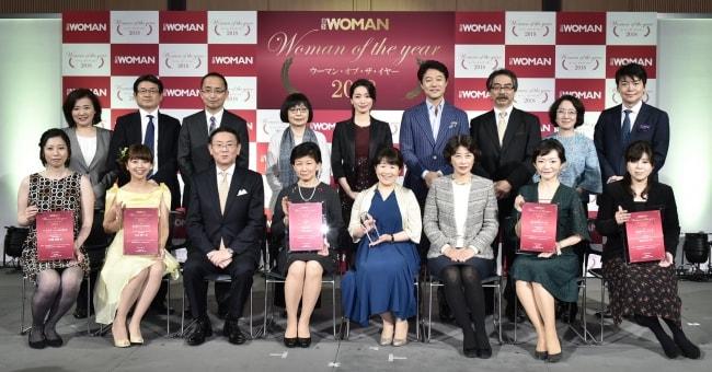 大賞は大ヒットコスメ担当の執行役員 日経WOMAN表彰式
