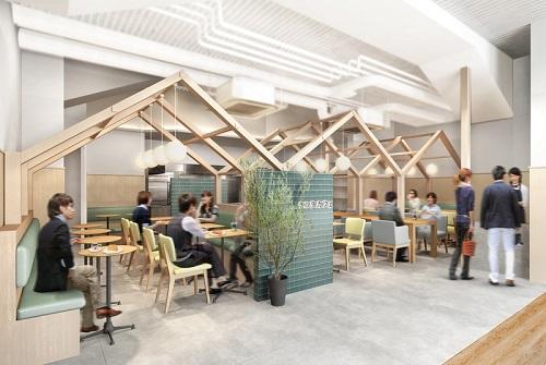 こころの健康をコンセプトにした新業態カフェ登場 タニタ