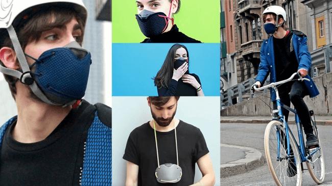 イタリア製のマスク
