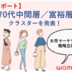 女性クラスター